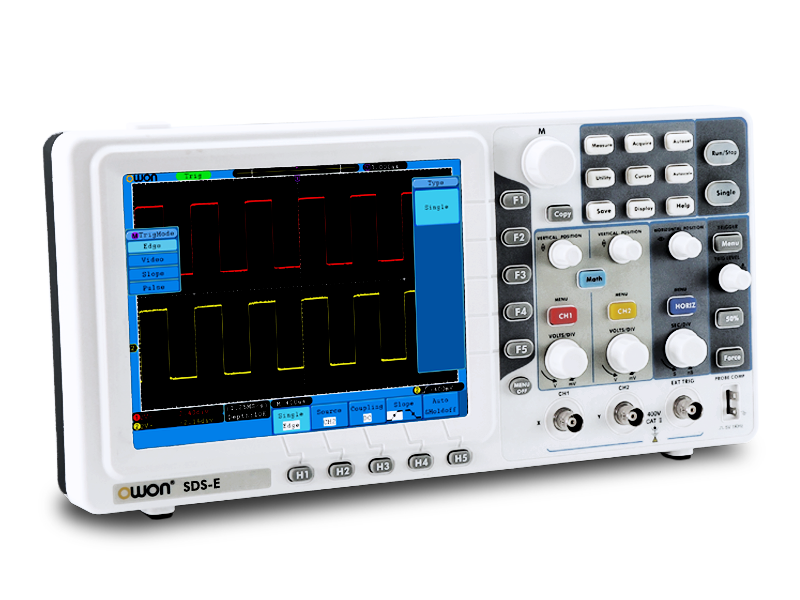 Owon Oscilloscope Display : Affordable dso lcd oscilloscopes for beginners from